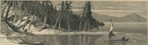 Image of Sand Point, Little Tupper Lake - Print