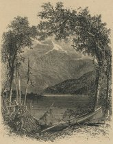 Image of Whiteface, From Lake Placid - Print