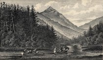 Image of Mount Haystack. From Upper Ausable Inlet. - Print