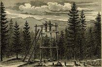 Image of Sextant Reconnaissance. Lyon Mountain 1878 - Print