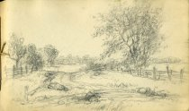 Image of [Untitled: Landscape] - Drawing