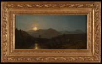 Image of Untitled: Night Scene, Keene Valley - Painting