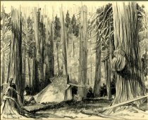 Image of Henderson Camp - Drawing