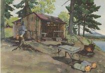 Image of Adirondack Camp - Print