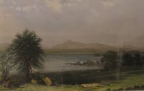 Image of Lake Champlain, From St. Albans. - Print