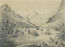 Image of Lac Georges - Drawing