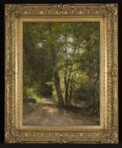 Image of The Road To the Ausable - Painting