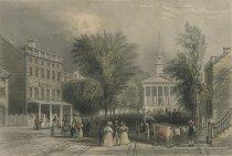 Image of Ballston Springs. - Print