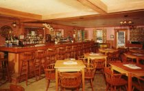 Image of The Fabulous Redwood Lounge of the Big Moose Inn, Big Moose, N.Y.  - Postcard