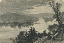 Image of Prospect House, Blue Mountain Lake - Print