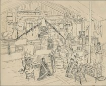 Image of Upper Saranac - Drawing
