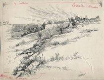 Image of Ticonderoga Ruins - Drawing
