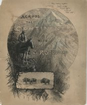 Image of Across the Continent with S.R. Stoddard - Drawing