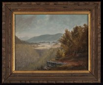 Image of Keene Valley From Baxter Mountain - Painting