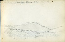 Image of [Champlain, Camels Hump] - Drawing