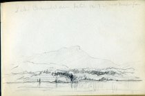 Image of [Lake Champlain near Burlington] - Drawing