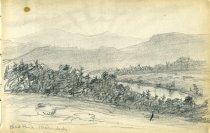 Image of [Bird Pond, (Adirondacks)] - Drawing