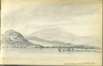 Image of [Lake Sanford] - Drawing