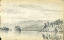Image of [Long Lake] - Drawing