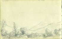 Image of [Mt. McIntyre, Mt. Colden, Mt. Marcy and North River Mountain] - Drawing