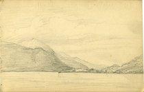 Image of [Untitled: Lake] - Drawing