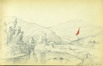 Image of [Schroon River] - Drawing