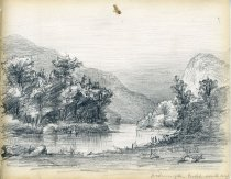 Image of [Wilmington Notch from the South] - Drawing