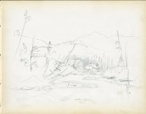 Image of [Untitled: River] - Drawing