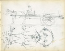 Image of [Untitled: Sketches] - Drawing