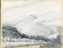 Image of [Whiteface Mountain from North Elba] - Drawing