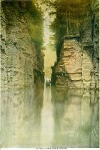 Image of Ausable Chasm, Lower Gateway - Print