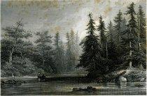 Image of Barhydt's Lake (Near Saratoga). - Print