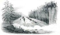 Image of Hadley Falls, Hudson River - Print