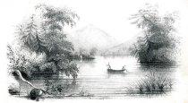 Image of View On Lake George - Print