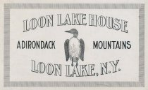 Image of Loon Lake House - Drawing
