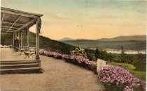 Image of Panther Mountain from the Porch of Blue Mountain House - Print, collotype