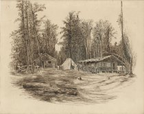 Image of [Pine Knot Camp] - Drawing