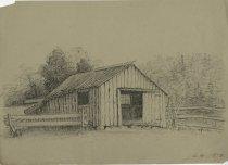 Image of Lake George - Drawing