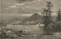 Image of Fourteen-Mile Island, Lake George - Print