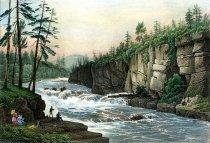 Image of Rapides De l'Hudson a Adeley's - Print