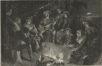 Image of Life in the Woods-A Summer Encampment in the Adirondacks - Print