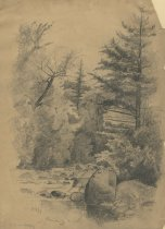 Image of Roaring Brook - Drawing
