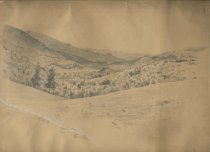 Image of Keene Valley - Drawing
