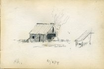 Image of [Untitled: Barn] - Drawing