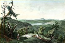 Image of View From Prospect Hill, Near Lake George - Print