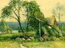 Image of [Untitled: Summer Scene] - Print