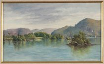 Image of The Narrows, Lake George - Painting