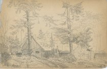 Image of Moose River - Drawing