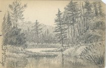 Image of Cranberry Pond - Drawing