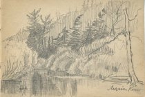 Image of Marion River - Drawing